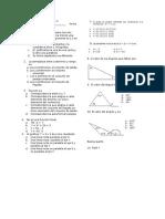 Evaluación Final de Periodo II Algebra