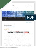 Direccionamiento IP _ Redes Telemáticas