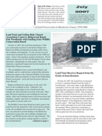 Jul 2007 Mendocino Land Trust Newsletter