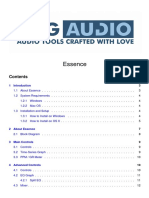 DMGAudio Essence Manual