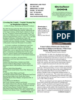 Oct 2004 Mendocino Land Trust Newsletter