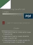 n 201 Introducing Javascript Loops
