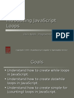 n 201 Introducing Javascript Loops