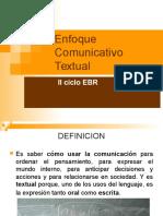 Enfoque Comunicativo Textual-Aporte de colegas sobre el enfoque comunicativo textual