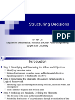 Structuring Decisions