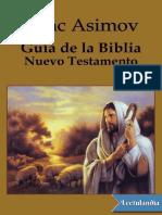 Guia de La Biblia. Nuevo Testamento - Isaac Asimov
