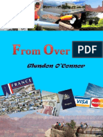 From Over Here - Glendon O'Connor