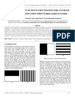 Preliminary Study of Multi-View Imaging for Accurate 3d Reconstruction Using Structured Light Scanner