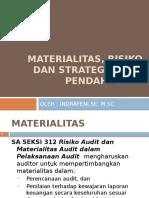Materialitas, Risiko Audit Dan Strategi Awal