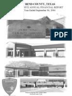 Fbcad financial report