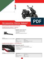 Accesorios AEROX Naked