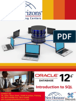 Brochure-Oracle 12c Introduction to SQL