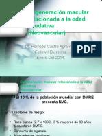 Degeneración Macular Relacionada a La Edad Exudativa (