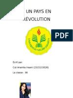 un pays en revolution