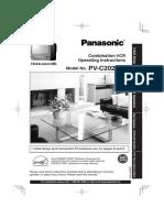Panasonic PV-C2023K(E)