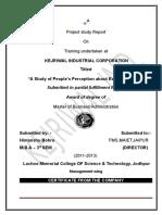 Himanshu Export Project Report