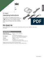 Panasonic PV-DAC14