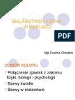 MALARSTWO I FIZYKA W MAKIJAŻU.ppt