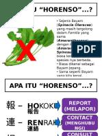 KENAPA HORENSO