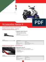 Accesorios Aerox r