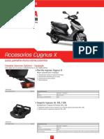 Accesorios CygnusX