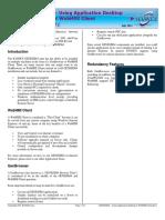 GENESIS64 Using Application Desktop or WebHMI Client