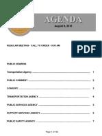Agenda 8-9-2016