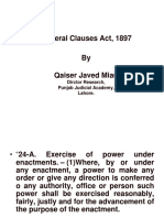 General Clauses Act 0
