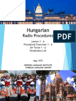 DLI Hungarian - Radio Procedures