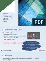 Basic 2D Drawing Skill AutoCAD