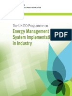 The UNIDO Programme on Energy Management System Implementation in Industry