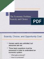Scarcity and Choice