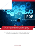 The Fast Progressing Medical Products Market in India – Market Overview & Category Insights (1)