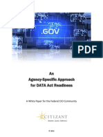 Citizant Approach to Data Act Whitepaper