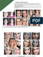 Mesma Pessoa x Diferentes Tipos de Maquiagem