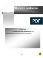 Price Mechanism Demand & Supply