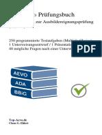 Top-Aevo Prüfungsbuch