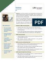 UBPartner Overview Datasheet