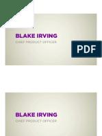 Blake Irving
