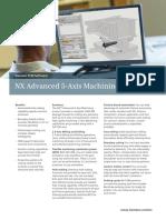Siemens PLM NX Advanced 5 Axis Machining Fs Tcm1023 118309 (2)