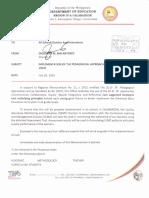 Regional Memorandum No. 233 s.2016 Monitoring Tool