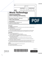 Music technology paper
