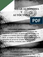 Universidad Autónoma y Autóctona