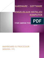 Mainboard Dan Prosesor Server Pc