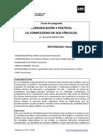 Comunicacion y Política