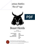 The Ninth Age Beast Herds 1 0 0