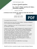 Lois B. Morris v. Business Concepts, Inc., James J. Maher and Petra H. Maher, 259 F.3d 65, 2d Cir. (2001)