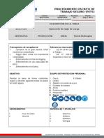 PETS- CF004- Operación de Izaje de Carga