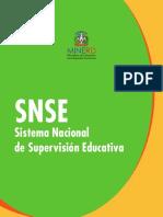 Sistema Nacional de Supervisión Educativa (Snse)