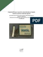 Preparaciones para inyección comercializadas en España durante la primera mitad del siglo XX